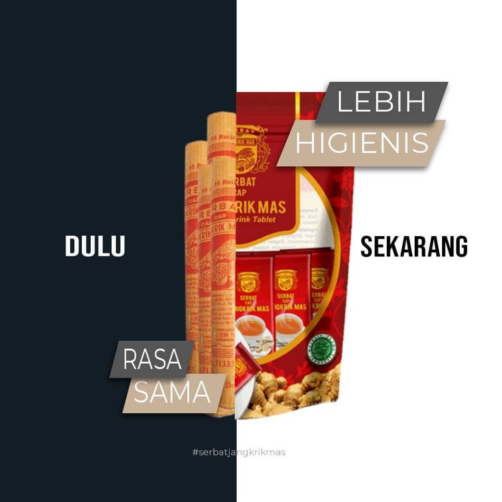 serbat jangkrik mas minuman tradisional indonesia sejak 1958